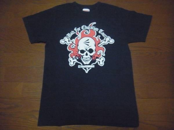 ELLEGADENスカルシットエルガーデン2004ツアープリントTシャツS