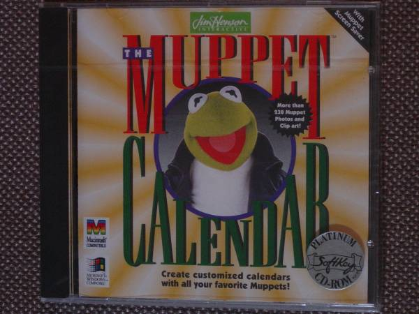 The Muppet Calendar (Jim Henson Interactive) PC CD-ROM_画像1
