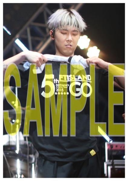 FTISLAND イ・ホンギ 5th ツアー 2015 5.....GO 写真13枚b
