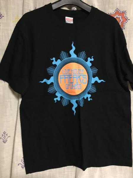 大船渡ライブハウスフリークス Tシャツ 黒 ★M