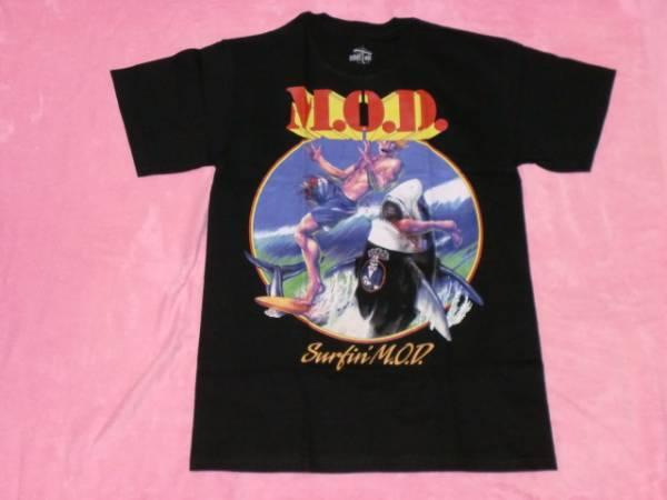 M.O.D ロックTシャツ S バンドT ツアーT ロックT Anthrax Slayer S.O.D ライブグッズの画像