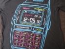データバンク風 TシャツカシオCASIO多機能腕時計ウォッチ電卓