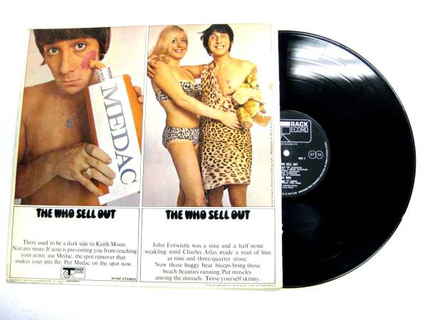UK TRACK stereoオリジナル/The Who /Sell Out_画像3