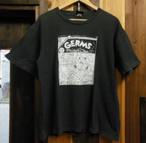 THE GERMS Tシャツ Circle Jerks Black Flag Minor Threat