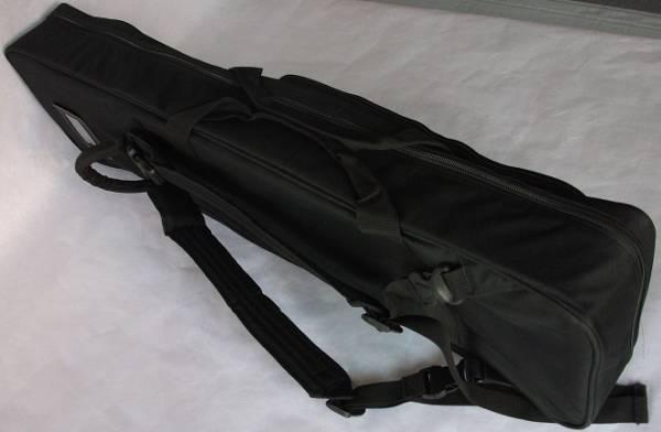 沖縄三線専用 肩紐付き ソフトケース 黒_画像2