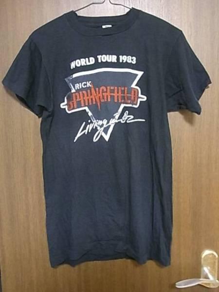 ☆ヴィンテージ☆RICK SPRINGFIELD 1983 World Tour Tシャツ M