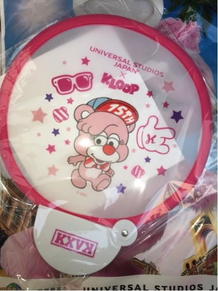 倖田來未 1日限定 USJ×KLOOP フォールディングファン ライブグッズの画像