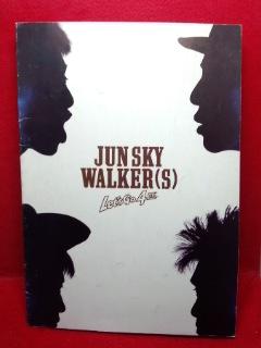 ●JUN SKY WALKER(S) TOUR 1990 Let's Go 4匹 パンフレット