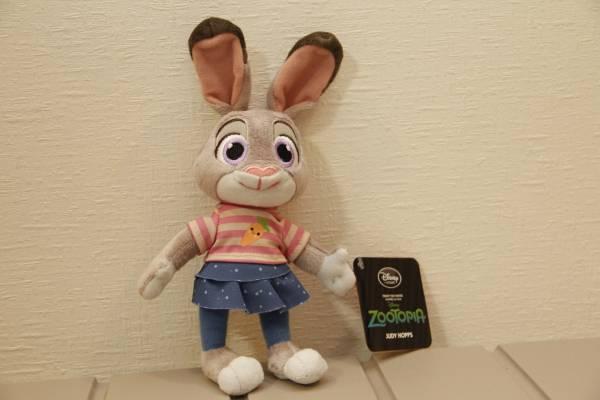 【新品】 ディズニー公式 ズートピア ジュディ ぬいぐるみ ミニ ディズニーグッズの画像