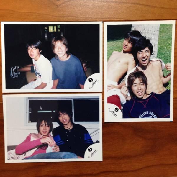 即決¥2000★嵐 公式写真 1165★相葉雅紀 Jr.時代 Jロゴ 貴重 3枚セット