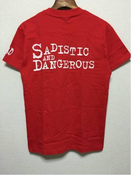 [即決古着]S.A.D/SADISTIC AND DANGEROUS/清春/Tシャツ/初期SADS