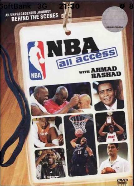 送料無料 ◆DVD NBA オールアクセス グッズの画像