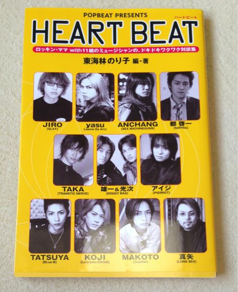 HEART BEAT 東海林のり子 Acid Black Cherry GLAY PIERROT ライブグッズの画像