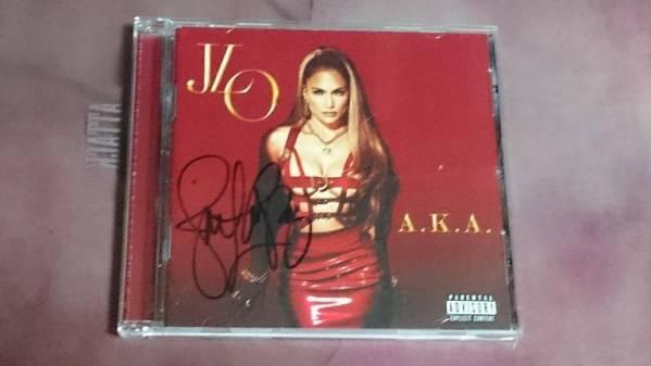 ジェニファー・ロペス(Jennifer Lopez)直筆サイン入CD
