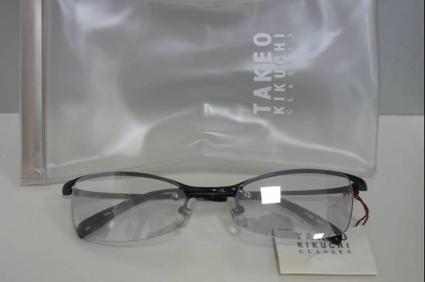 TAKEO KIKUCHIメタルサングラス新品未使用品デッドストック黒_画像3
