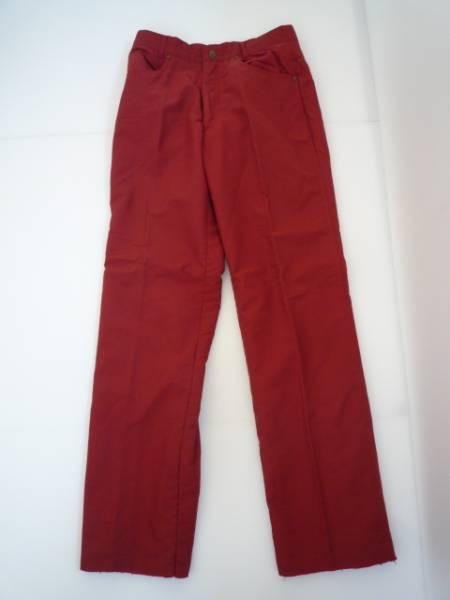 【お買い得!】 ◆ DELLOR ◆ カラーパンツ 31 赤