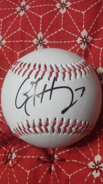 2013日米大学野球USAアメリカ代表ヒノホサ直筆サインボール