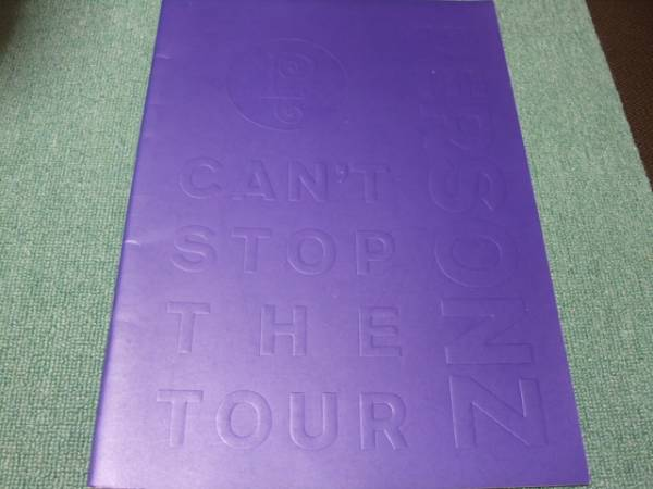 ★サイン入パンフPERSONZ【CAN'T STOP THE TOUR】パーソンズ★