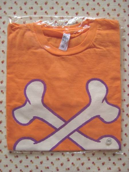 スピッツ SPITZ◆2010ロックロックTシャツ(オレンジ)XS◆新品