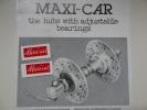 MAXI−CAR マキシカのレストア用水張り転写デカール