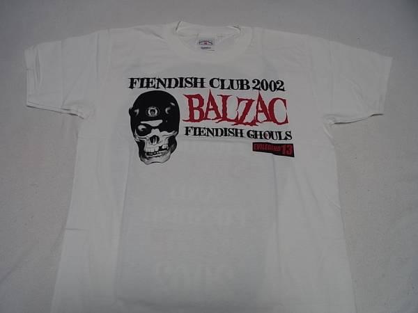 BALZAC FENDISH CLUB 2002 Tシャツ Mサイズ バルザック 未使用