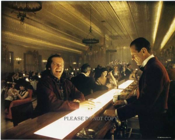 1980年映画 シャイニング USロビーカード ジャック・ニコルソン ジョー・ターケル USロビーカード 2枚付き