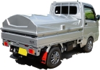 トラカバー (軽トラック荷台カバー) FRP製