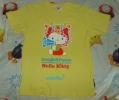 ☆KITTY☆沖縄国際映画祭×ハローキティコラボTシャツ☆黄色☆エイサー