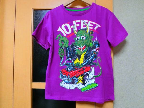 10-FEETテンフィート×seedleSsシードレス2012年夏フェス限定Tシャツ紫sizeS超美品