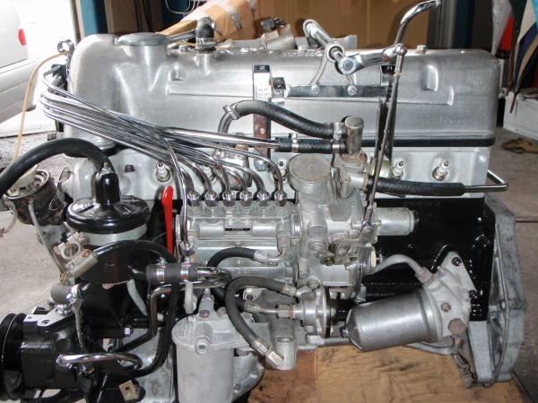 W113 280SL エンジン リビルト