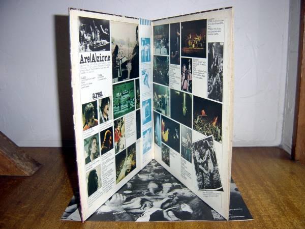 【帯LP】アレア/アレアツィオーネ(P10393Cワーナーパイオニア/CRAMPS1977年白見本AREA/ARE(A)ZIONE)_画像3