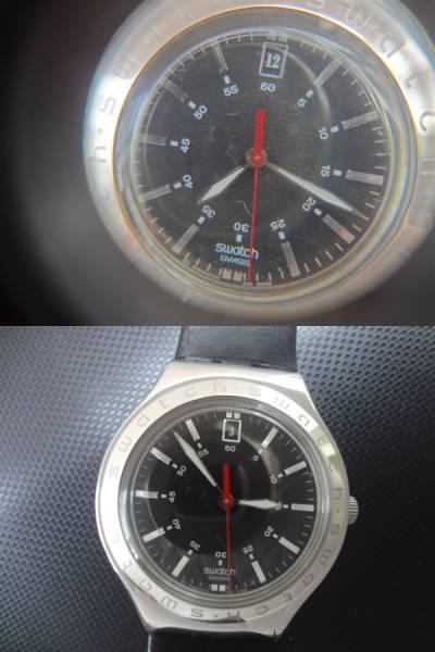 SWATCH IRONY スウォッチ アイロニー 腕時計 AG2002 ジャンク_画像3