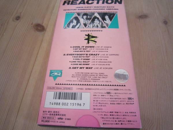 絶版■REACTIONビデオ■ジャパンメタルヘビーメタルラウドネスリアクション_画像3