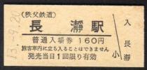 (秩父鉄道)長瀞駅160円