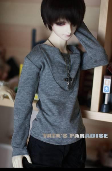 [N・TA] SD,SD13、SD17少年用Tシャツ/グレー_画像1