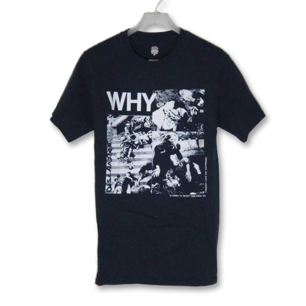 DISCHARGE WHY Tシャツ S/ディスチャージ パンク クラスト crust