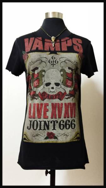 VAMPS LIVE JOINT 666 Tシャツ (S) 美品 グッズ