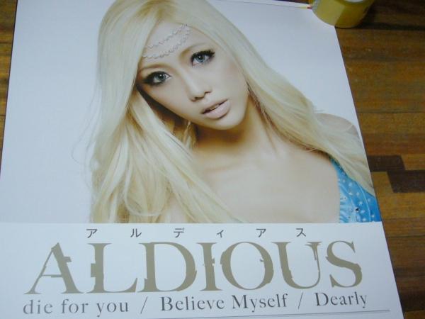 貴重レア B2大 ポスター ALDIOUS アルディアス
