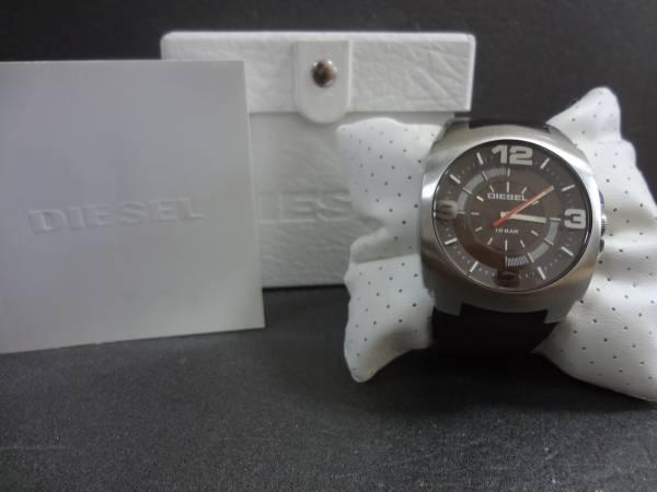 □■DIESEL ディーゼル ビックフェイス 腕時計 DZ-1145 ジャンク_画像1