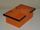 吉川国工業所 BC-5 ビー・コンテナー・5 オレンジ★プラスチック製 収納ケース 収納ボックス BOX★小物入れ