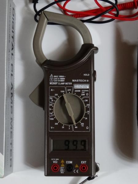 ★新品★ MASTECH M266F デジタルクランプメーター _画像2
