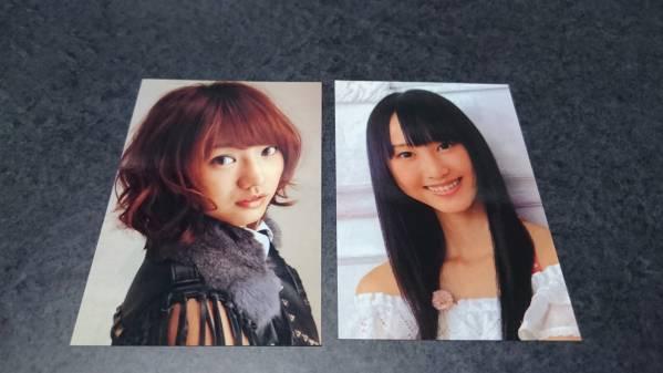 ☆AKB48 写真 卒業生 高城亜樹 松井玲奈 2枚セット☆_画像1