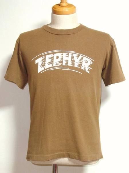 80s ヴィンテージ USA製 ZEPHYR ゼファー プリントTシャツ S ブラウン / USA アメリカ 古着 オリジナル JEFF HO Z-BOYS スケーター