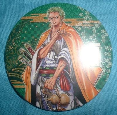 ワンピース 歌舞伎 麦わらの一味 缶バッジ ゾロ グッズの画像