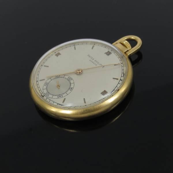 1950《パテックフィリップPatek Phillippe 871629》18K懐中時計
