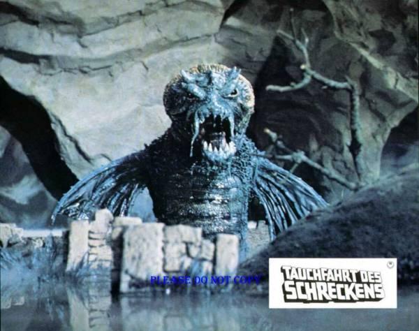 1978年 映画 アトランティス7つの海底都市 ロビーカード3枚付き