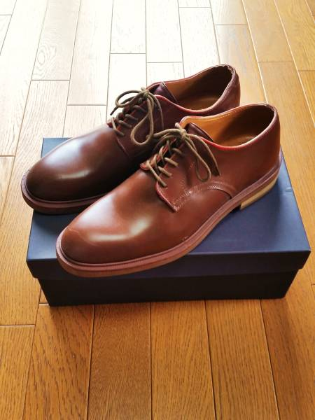 レインマン RAINMAN レインシューズ BARRY サイズUK8☆ダービーシューズ 雨靴 ビジネスシューズ 日本製 完全防水