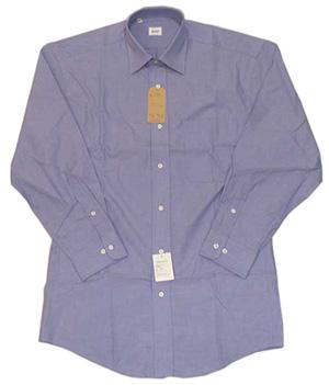 新品 綿100%エンドオンエンド セミワイドシャツ LT.Blue 15(38)_エンドオンエンド織 ライトブルー