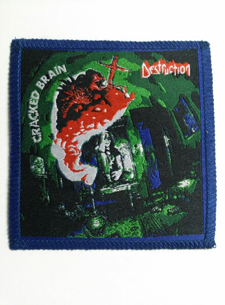 DESTRUCTION 刺繍パッチ ワッペン cracked / slayer venom sodom