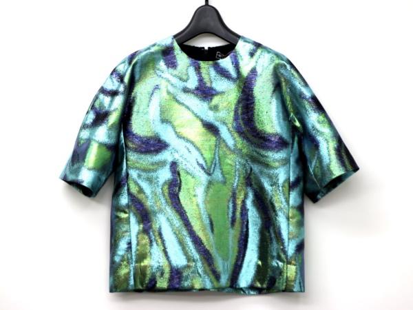 ▼新品▼伊製▼MSGM Multicolor printed sweater▼ブラウス▼40サイズ▼